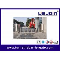 Buy cheap Organic Speed Gate Retractable Flap Barrier Gate Stainless Steel Pedestrian Turnstiles from wholesalers
