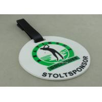 Buy cheap Customized 3D Design Soft PVC Plastic Luggage Tags / Personalized Bag Tags product