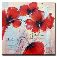 Buy cheap New abstract flower oil painting from wholesalers