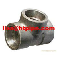 Buy cheap stainless ASTM A182 F304l socket weld tee from wholesalers