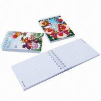 Buy cheap PU Leather/PVC/Printed Paper Cover Notepad, Could Change to Sticky Notepad Inside product