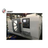 Buy cheap 11kw Spindle Motor Flat Bed CNC Lathe Machine Steel Headstock Gears Included from wholesalers