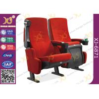Buy cheap Comfortable Cinema Theater Chairs , Movie Room Chairs With Tip Up Armrest from wholesalers