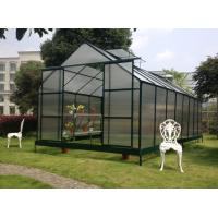 Buy cheap UV Aluminum / Metal Frame Polycarbonate Plastic Garden Greenhouse Kits For Plant , Vegetable from wholesalers