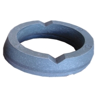 Buy cheap 63HRC Thickness 25mm Donut Shape 75x25mm Excavator Wear Parts product