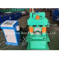 Buy cheap Metal Roof Building Material Ridge Cap Forming Machine 0.3-0.8mm Thickness 2 Years Warranty from wholesalers