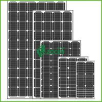 Buy cheap High Performance 80W 18V Sharp Monocrystalline Solar Panels Black from wholesalers