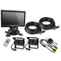 Buy cheap HD Waterproof IP67 Rugged Truck Trailer Reverse Camera With Colour 7 LCD Monitor from wholesalers