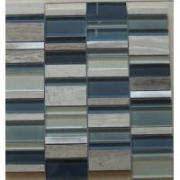 Buy cheap Marble And Stone Mix Crystal Glass Mosaic Tile For Swimming Pool Tiles from wholesalers