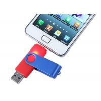 Quality Mobile OTG USB Driver metal 32GB Rotatable with Grade A Chip for sale