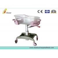 Buy cheap New Born Metal And Plastic Hospital Baby Bed,Baby Crib Bassinet With Caster (ALS-BB01) from wholesalers