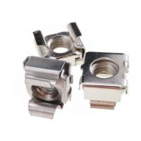 Buy cheap Polished Hardware Nuts Bolts Sqaure Mounting Stainless Steel M6 Cage Nuts from wholesalers