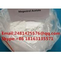 Buy cheap CAS 595-33-5 Raw Hormone Powders Megestrol Acetate For Female Health from wholesalers