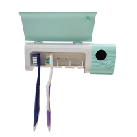 Buy cheap Cyan USB Charging 10000HD 225g 150ma UV toothbrush holder from wholesalers