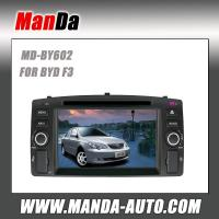 Buy cheap Manda 2 din car radio for BYD F3 in-dash head unit touch screen dvd gps navigation system from wholesalers