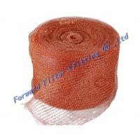 Buy cheap Standard Stainless Steel Woven Metal Mesh / Safe  strong Knitted Wire Mist Eliminator from wholesalers