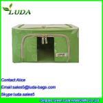 Buy cheap Green storage clothing basekts female non-woven fabric laundry box from wholesalers