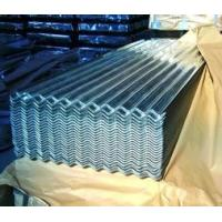 Chromated rolled galvanized sheet metal ASTM A653 - CS - B Grade