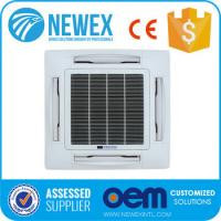 Buy cheap 4-way 2/4 Tube Ceiling Mounted Cassette Type Air Conditioner, Chilled Water Cassette Fan Coil Unit Ceiling Mounted/Expos from wholesalers