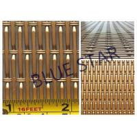 China Aluminum Pre Crimped Wire Mesh Screen For Farm & Decoration Smooth Top Anti - Corrosion on sale