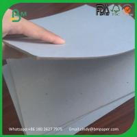 Buy cheap Recycled material paper board hard smooth surface grey board for book cover product