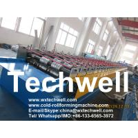 Buy cheap Metal Flooring Deck Roll Forming Machine for Making Steel Structure Floor Decking from wholesalers