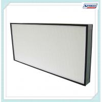 Buy cheap Large Capacity Industrial Hepa Air Filters Cleanroom Or Medical Air Filtration from wholesalers
