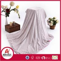 Buy cheap Double deck Face Sprout Polyester Back micromink Blanket Plain from wholesalers