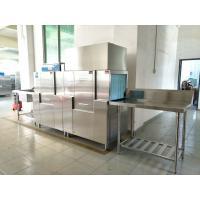 Stainless Steel Hotel Dishwasher Machine , Commercial Kitchen Dishwasher