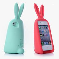 Buy cheap 3D rabbit shape silicone phone case / customized design welcome from wholesalers
