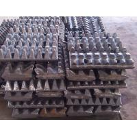 Buy cheap Limestone Slag Crusher Machine Tooth Plate Wear - Resistant Material from wholesalers