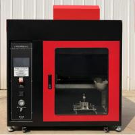 Buy cheap 220V Flammability Testing Equipment Mask Flame Retardant Tester from wholesalers