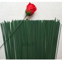 Buy cheap Green simulation flower stem length 40 cm diameter of 2.2 mm can be dried flowers plastic sponge paper flowers rod from wholesalers