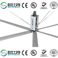 Buy cheap OPT 24ft(7.3m) industrial hvls fan for warehouse cooling from wholesalers