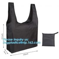 Buy cheap Designs Easy carry small foldable pocket tote polyester reusable folding shopping bag,full print 210d polyester foldable from wholesalers