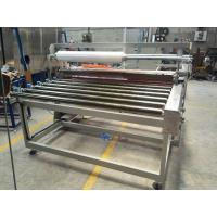 Buy cheap 0.75Kw Glass Protective Film Laminating Machine , Film Cover Speed 0.5-7m/s Adjustable from wholesalers
