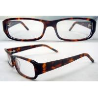 Buy cheap Mens / Womens Acetate Retro Leopard Glasses Frames For Reading Glasses product