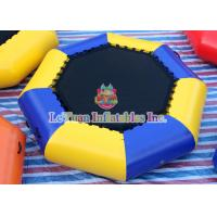 Buy cheap Waterproof Inflatable Water Toys , Inflatable Sea Trampoline For Sea Party from wholesalers