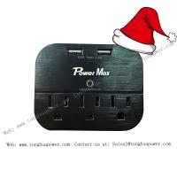Buy cheap Surge protector with 2 USB 3 outlet wall tap wall plate for home and office use from wholesalers