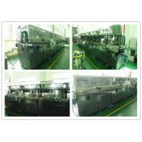 Lubricating Oil Bottle Automatic Screen Printing Equipment Multi Colors Printing