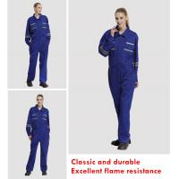 Buy cheap Fire Retardant Coverall, cotton FR / Aramid + viscose FR, light weight from wholesalers