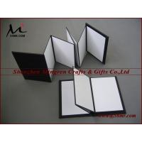 Buy cheap Fabric Cloth Linen folding out photo Album holder stand clips from wholesalers