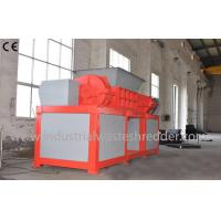 Buy cheap 2 Shaft Plastic Waste Shredder Low Energy Consumption For Drainage Pipes from wholesalers