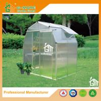 Buy cheap 4'x6'x6.7'FT Silver Color Easy DIY Barn Style Garden Greenhouse from wholesalers