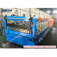 Buy cheap High Effective Roof Panel Roll Forming Machine For 1000mm Cover Width from wholesalers