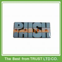 Buy cheap Custom metal lapel pin with epoxy surface, lapel pin with dyed black metal from wholesalers