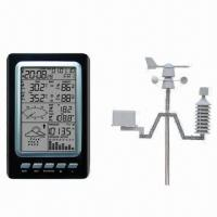 Buy cheap Professional Weather Station with Solar Power from wholesalers