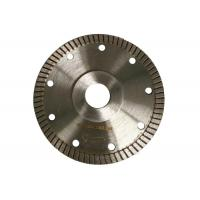 Super Thin 115mm Tile Cutting Disc , Turbo Rim Diamond Blade Smooth Cutting