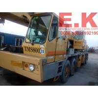 Buy cheap 80ton used Grove hydraulic truck mobile crane (TMS800B) from wholesalers