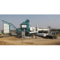 Buy cheap Fixed Type Asphalt Batching Plant 2 Stage Duster 50T Hot Aggregate Storage Bin product